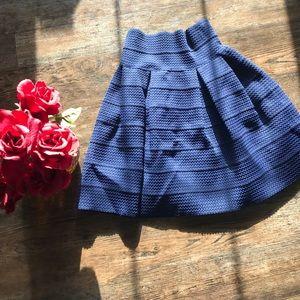 Skirt navy blue